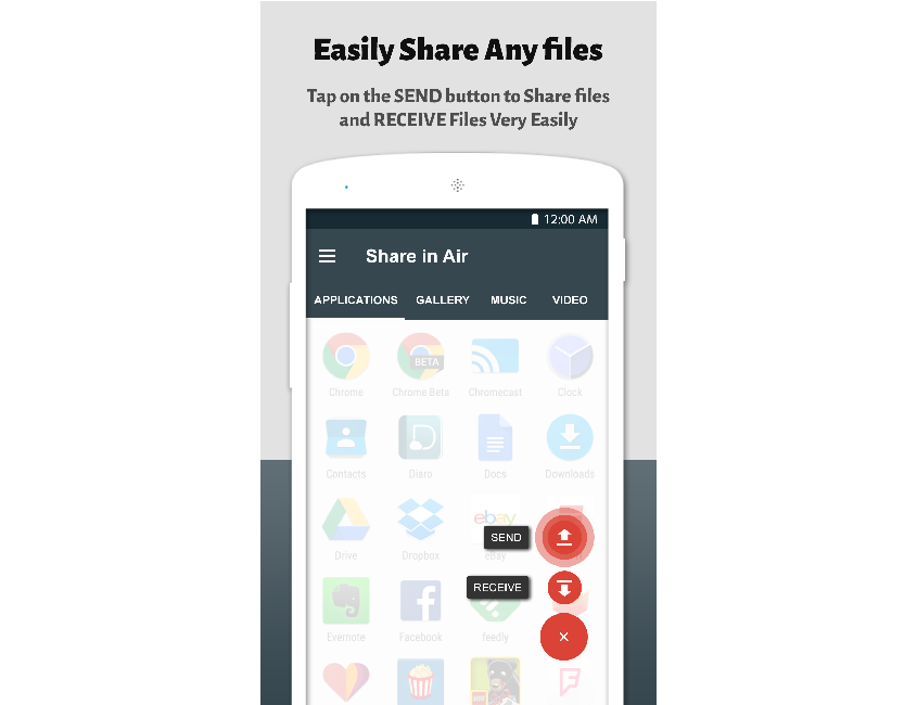 Easily Share Any Files