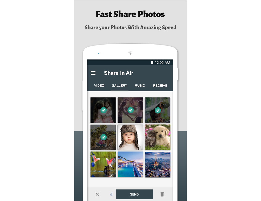 Fast Share Photos